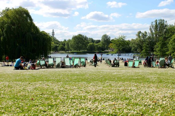 This is actually Regent's Park, but whatever