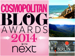 Shortlisted for the Cosmo Blog Awards 2014!