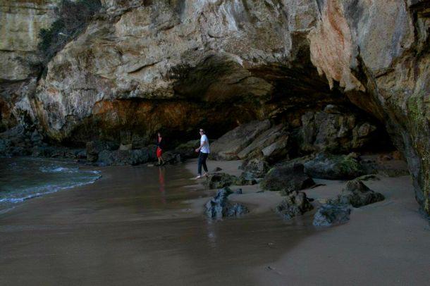 Loch Ard Gorge cave