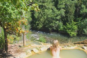 Bathing in the Wilderness: Umpqua HotSprings