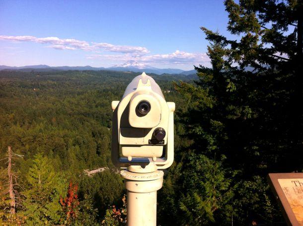 Overlooking Mt Hood