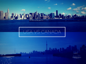 In Pictures: USA vsCanada